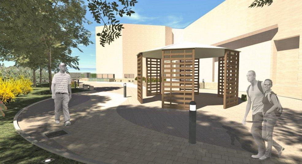 Progetto area esterna per Gara Scuola Alberghiera